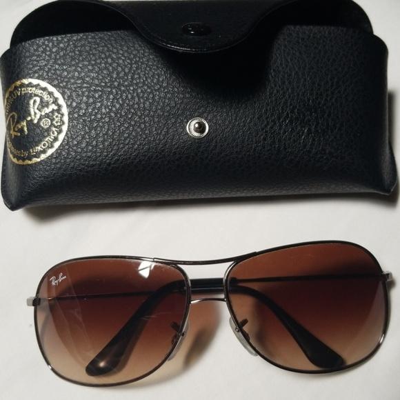 5a4ac871d1 Ray Ban RB3267 Aviator Style Sunglasses Brown. M 5b09a3439cc7efa9b470e903